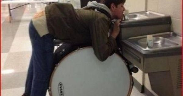 """Marching band problems! Only """"band geeks"""" get it!"""
