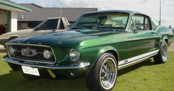 Hello Gorgeous Ford Mustang Fastback Gta Dark Moss Green 1967
