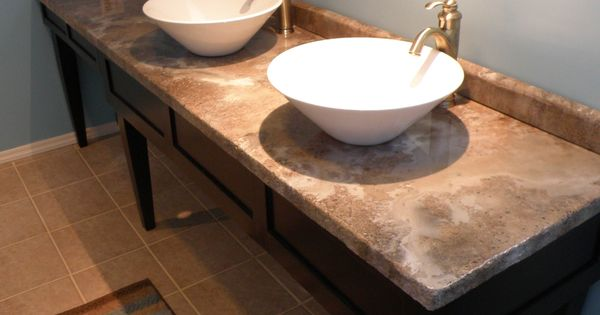 Paint Mdf Countertop : PAINT MY WORLD - DECORATIVE CONCRETE OVERLAY OVER MDF BOARD NEW ...