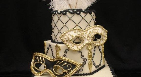 Masquerade Ball Themed Halloween Party ~ Using the color scheme of white,