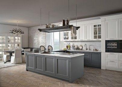 Minacciolo, cucina classica, cucina elegante, cucina bianca ...