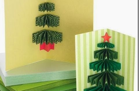 Manualidades navidad tarjetas navide as en 3d proyectos - Manualidades postales navidad ...