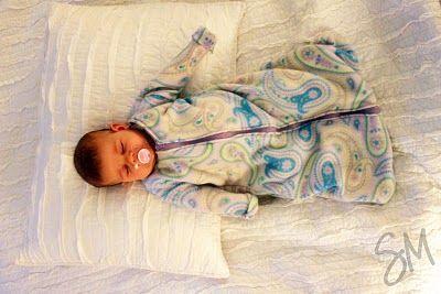 12 Free DIY Baby Sleep Sack Tutorials | Sacks, Sleeve and ...
