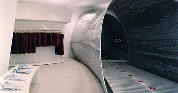 Comme Des Garcons Future Systems 1998 Store Architecture