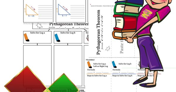 pythagorean theorem bundle with real world word problems student the o 39 jays and words. Black Bedroom Furniture Sets. Home Design Ideas