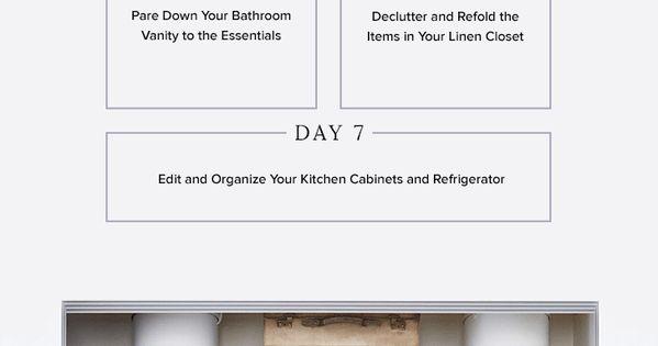 7 day konmari inspired challenge for beginners for Minimalisme rangement