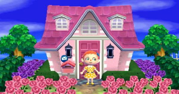 Seraphinae Animal Crossing New Leaf Exterior House Colors