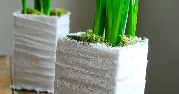 How To Make Simple Planters From Milk Cartons