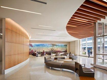 Health care interior design medical center