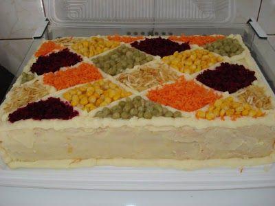 Bolo Salgado Para Festas Pao De Forma Receita Torta De
