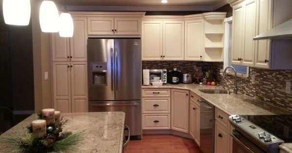 Furniture Awesome Semi Custom Kitchen Cabinets With L