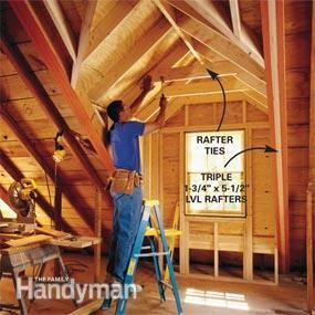 How To Frame A Gabled Dormer Attic Rooms Attic Renovation Attic Remodel