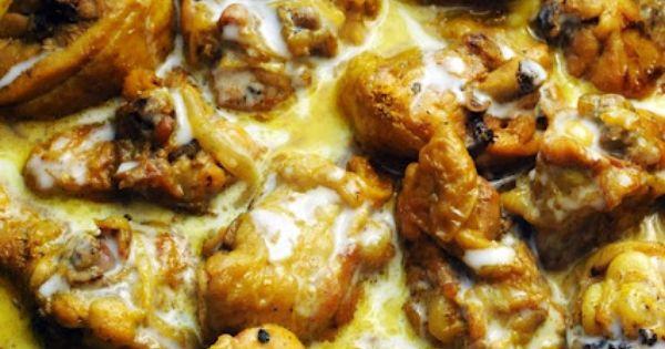 Poulet à la noix de coco Recette Antilles