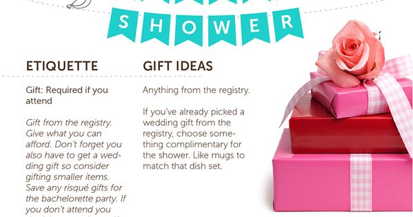 Wedding Gift Etiquette Shower And Wedding : and EtiquetteDo I need a gift for the bridal shower and the wedding ...