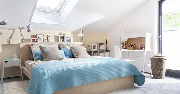 Schlafzimmer im Dachgeschoss Cose da comprare Pinterest Zuhause - sternenhimmel im schlafzimmer