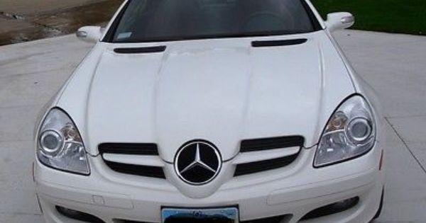 2007 Mercedes Benz Slk 280 White Red Wow Mercedes Benz Slk