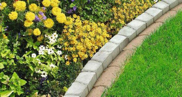 Rasenkante Rasenfix 22x12x4 5 Cm Grau Beton Bei Baywa Baumarkt De Kaufen Rasenkanten Garten Rasen