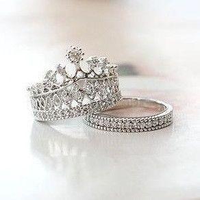 Aliexpress Com Buy 60 Off Couple Wedding Bridal Sets Of Jewelry Female Austrian White Gold Plated Cz D Fashion Rings Beautiful Jewelry Diamond Fashion Rings