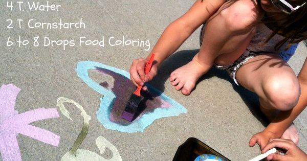 Sidewalk Paint?! I think YES!