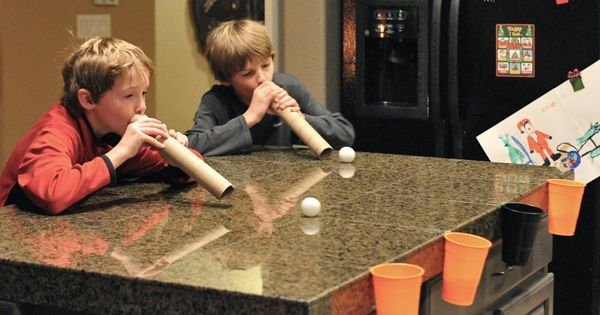 PARTY GAME Another pinner said: One of our newest family Christmas traditions