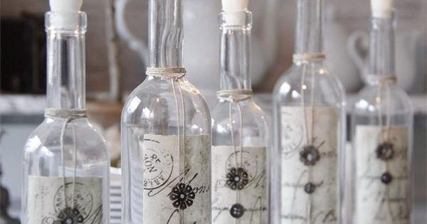 Ideas para decorar con botellas y tarros de cristal blog - Botellas con velas ...