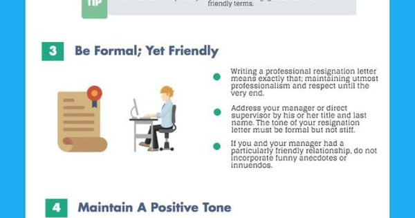 Career infographic  How To Write A 2 Week Resignation Letter