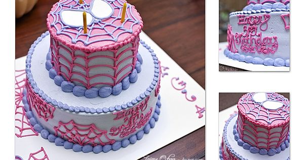 Girl Superhero Birthday Party - this was for a three-year-old girl. It