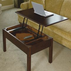 This Convertible Coffee Table Is Great For Those Who Like Sitting In A Friendly Environment Rather Than With Images Convertible Coffee Table Coffee Table Coffee Table Desk