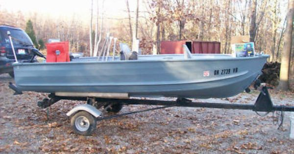 Sears aluminum boat great for fishing trips camping for Fish camping boat