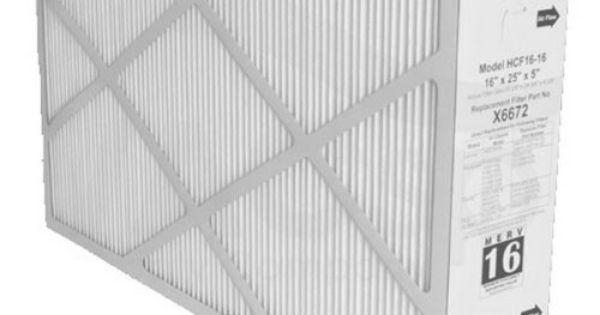 X6672 lennox healthy climate 16x25x5 merv 16 filter list price 145