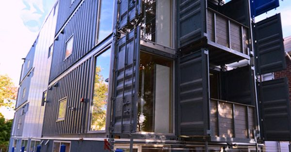 Multi Family Shipping Container Housing Travis Price