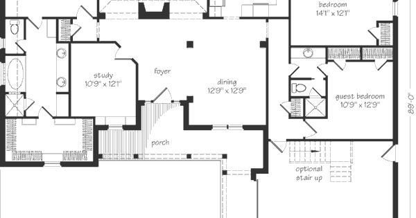House Plans Small Linen Closets And The Study On Pinterest