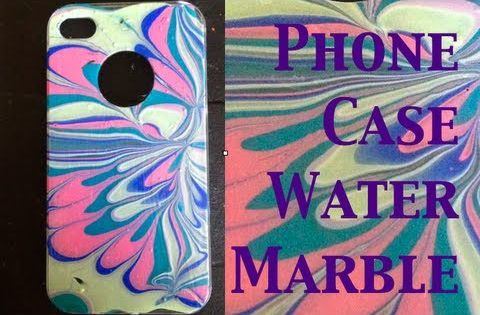 how to find my iphone diy water marble iphone theeasydiy phonecaseart 1380
