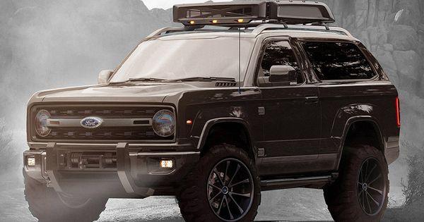 2020 Ford Bronco Concept Automotive Pinterest Ford
