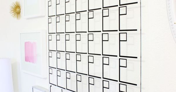 Love Calendar Diy : Love this diy acrylic calendar click for tutorial