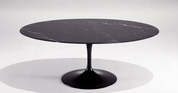 Knoll Saarinen Coffee Table By Eero Saarinen Oval In All White Apartment Wish List Pinterest