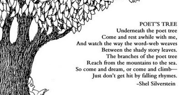 The Voice By Shel Silverstein: Create A Display Corner Based On This Poem, Poet Tree. Get
