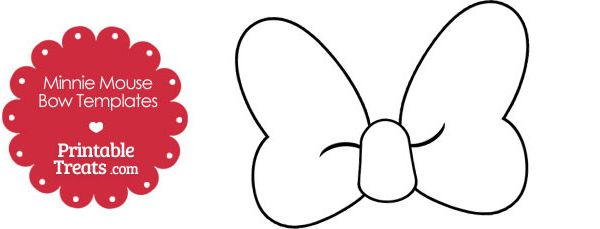 free printable minnie mouse bow template - search results for minnie mouse traceable pictures