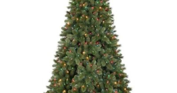Pre Lit Christmas Trees Multi Color Led Lights
