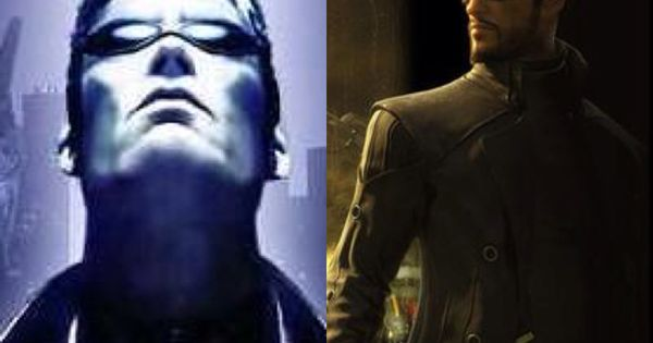 JC Denton & Adam Jensen. If Human Augmentation Were