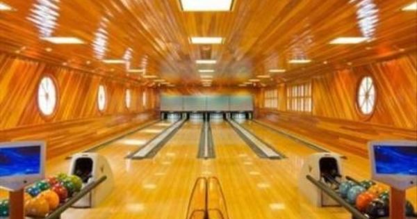 In Home Bowling Alley Man Cave Home Bar Home Bowling Alley Best Man Caves