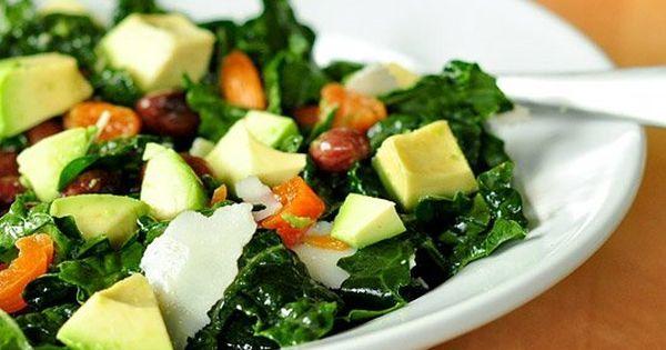 Kale salads, Kale and Avocado on Pinterest