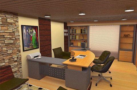Fotos de decoraci n de oficina modernas decorar una - Decoracion oficinas modernas ...