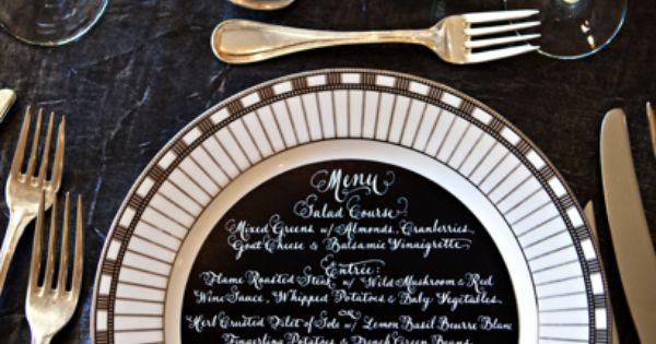 perfectly cut menu