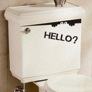 トイレのインテリア おしゃれなトイレ空間をコーディネートする方法 トイレ おしゃれ ウォールステッカー ステッカー