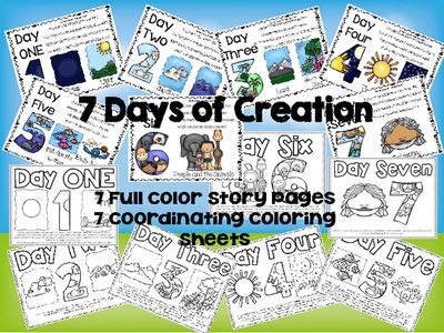 FREE 7 Days of Creation Lesson
