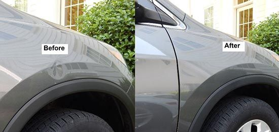 8 Easy Ways To Remove Dents Yourself Without Ruining The