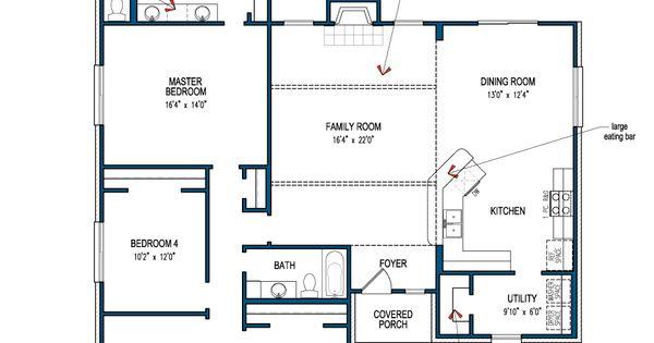 House Floor Plan Carlton IV Informal For The Home