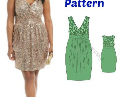Plus Size Formal Dress Pattern FREE - My Handmade Space ...