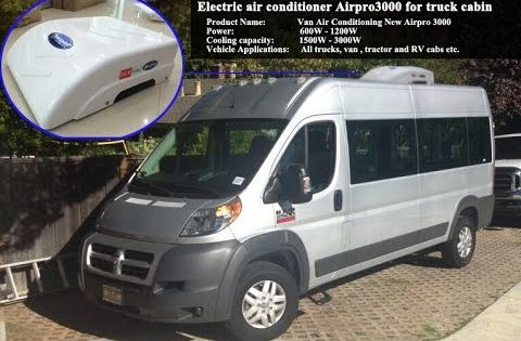 Guchen Introduced A New Airpro 3000 On The Basis Of The Original Airpro 3000 This Van Air Conditioner Is Specially Designed For Ford Van Air Conditioner Air